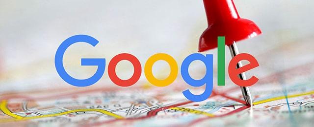 Google + carte maps illustration
