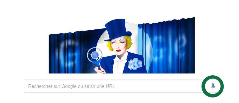 Google voice bouton de recherche vocale