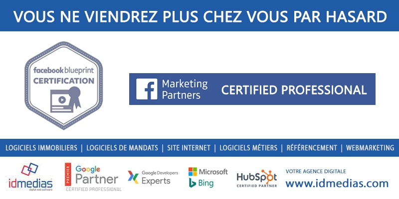 L'agence digitale idmedias obtient la certification marketing et publicité FACEBOOK