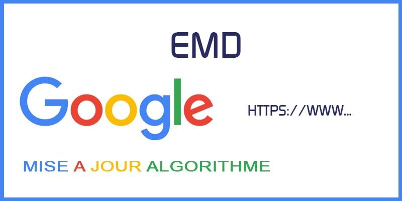 Mise à Jour EMD Google publie un rappor
