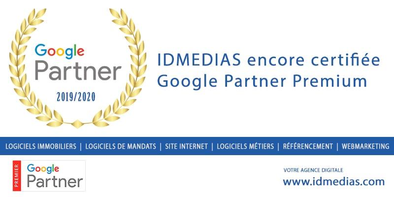 certifiée régie Google Partner Premium