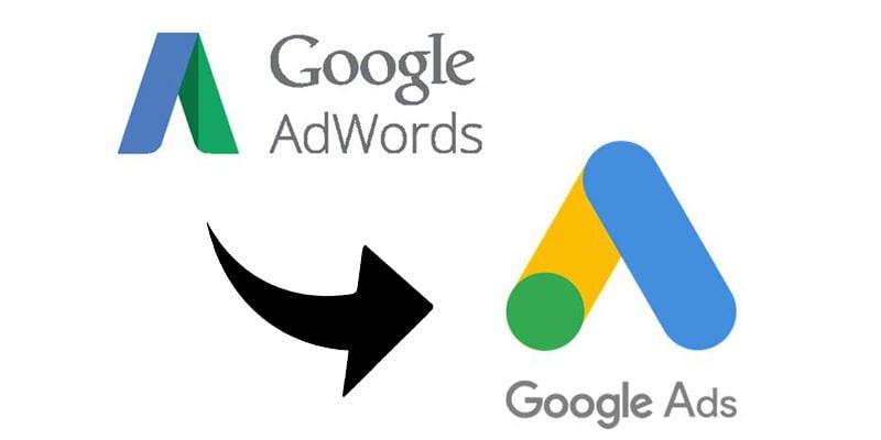 logo ancien google vs nouveau google ads