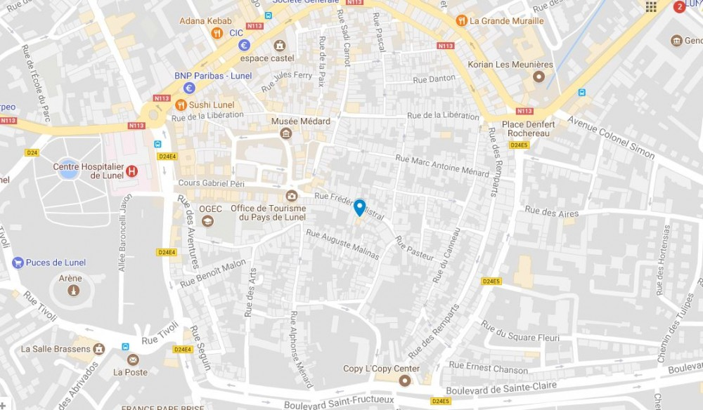 carte seo local google maps